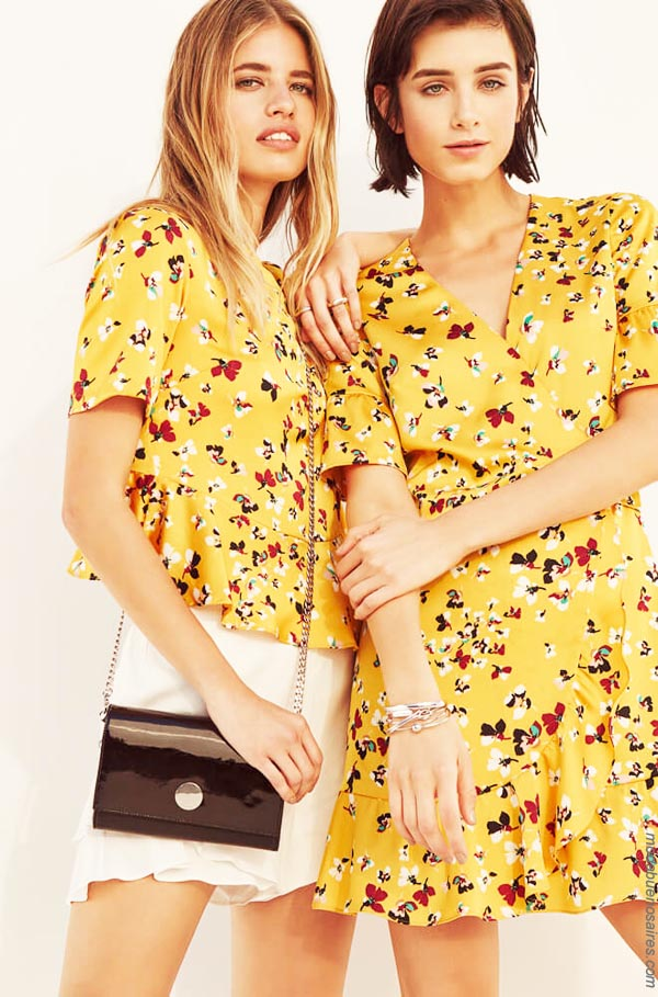 Blusas y vestidos primavera verano 2019 │ Moda primavera verano 2019.