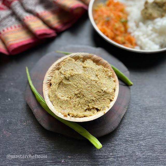 Kothavarangai Thogayal Recipe