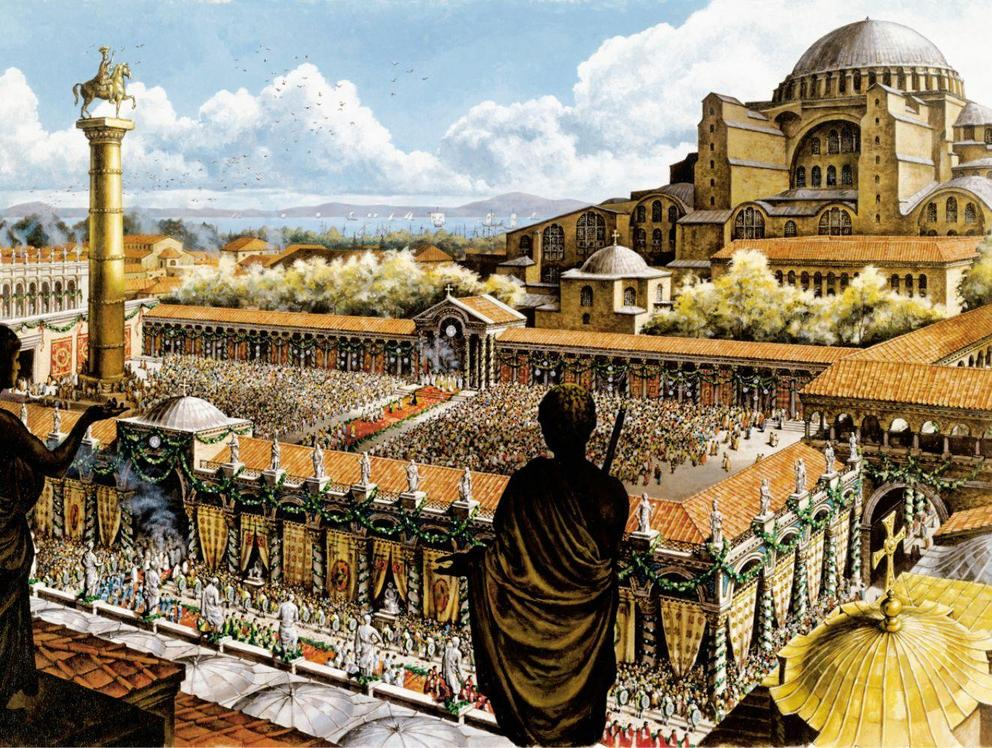 Iaonas: The Byzantine empire 336-1453