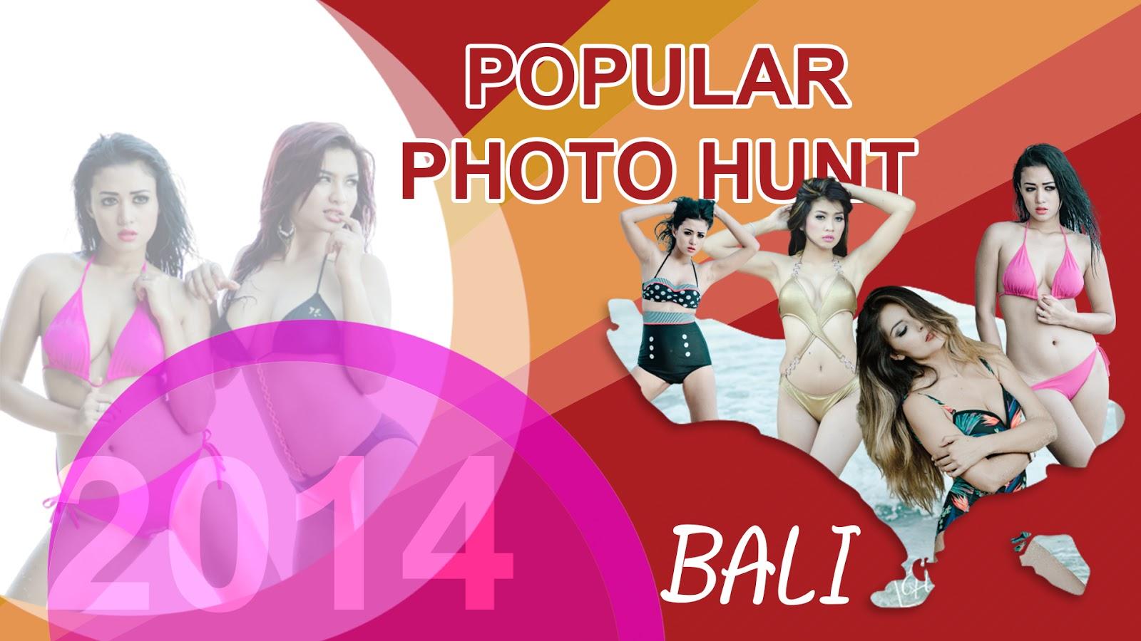 Pemotretan Model Popular di Bali