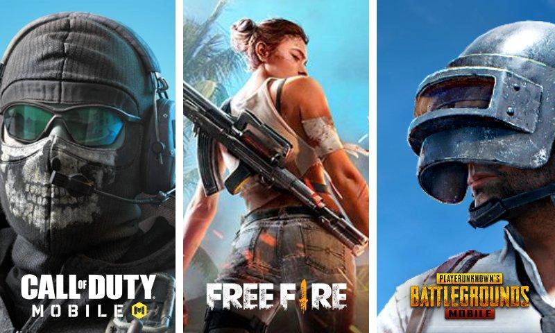 Call of Duty Mobile vs Free Fire vs PUBG MOBILE: ¿Cuál es mejor?