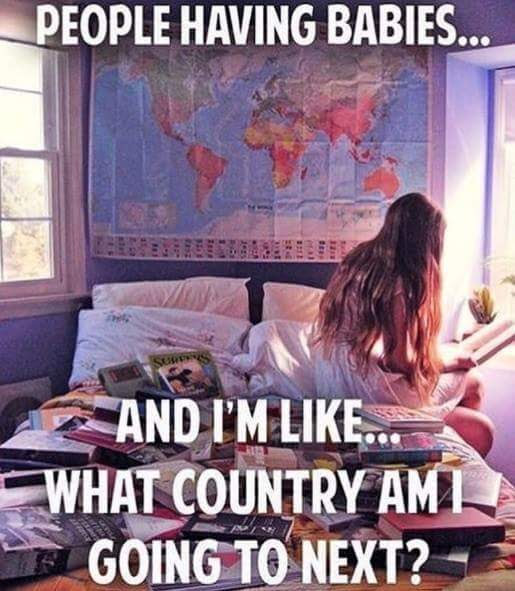 Country I'm going next