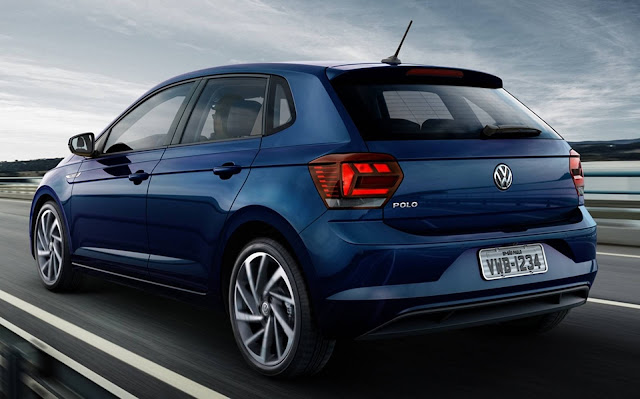 Novo VW Polo 2018 Azul Night