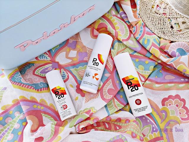 P20 protección solar  familia sunprotect UVA sol verano vacaciones beauty salud skincaree