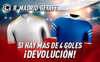 sportium promocion Real Madrid vs Getafe 2 julio 2020