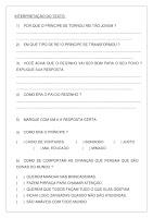 Atividade com Texto O Reizinho Mandão; PDF Grátis