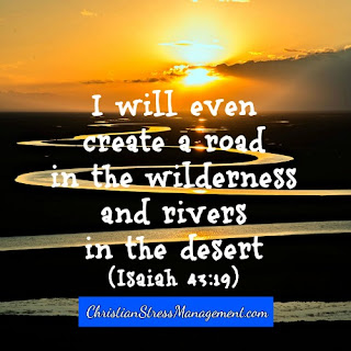 I will even create a road in the wilderness and rivers in the desert Isaiah 43:19