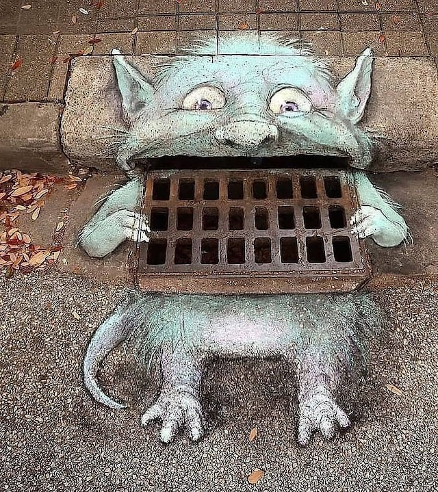 15 Awesome funny Street Arts that you might have never seen before...