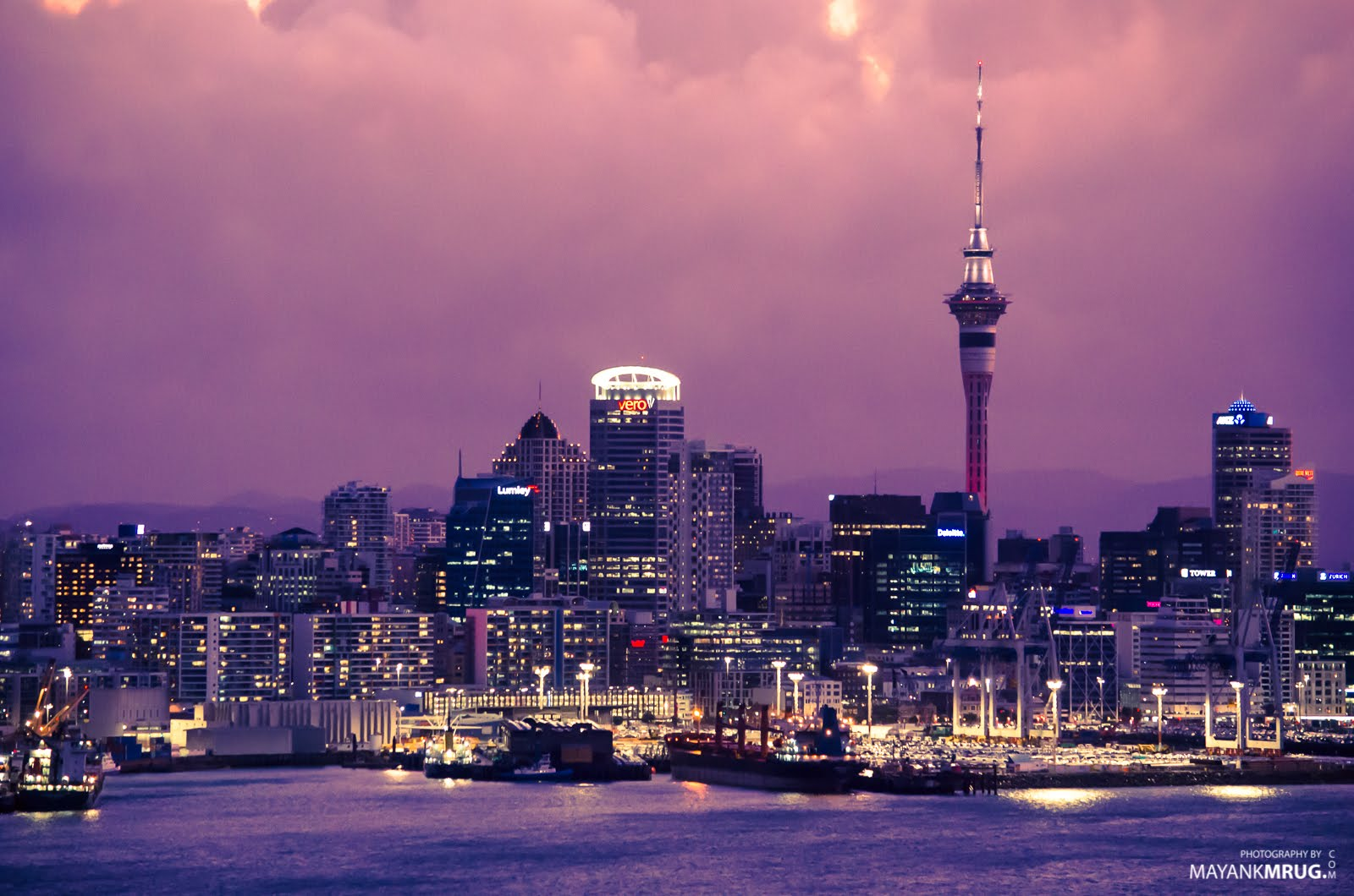 Auckland at Twilight