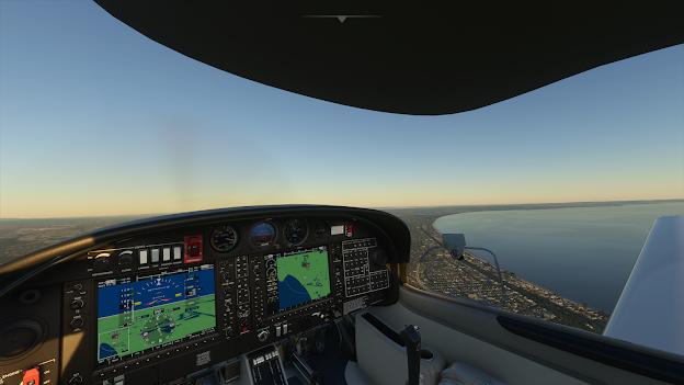 Microsoft Flight Simulator 2020 DA40 Cockpit