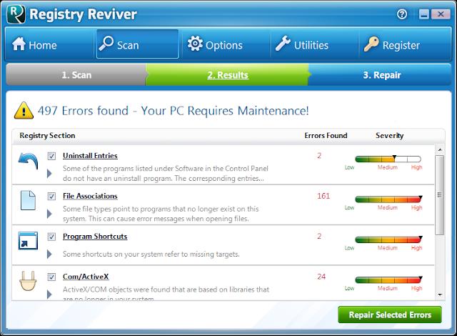 ReviverSoft Registry Reviver -