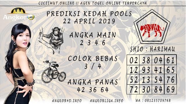 Prediksi Angka Jitu KEDAH POOLS 22 APRIL 2019