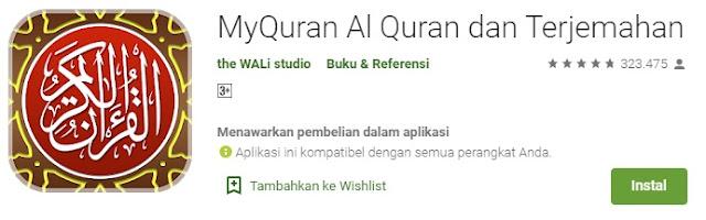 My Al Quran dan Terjemahan