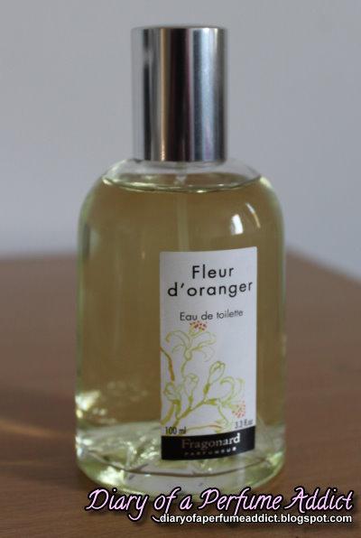 Diary Of A Perfume Addict Fleur D Oranger By Fragonard