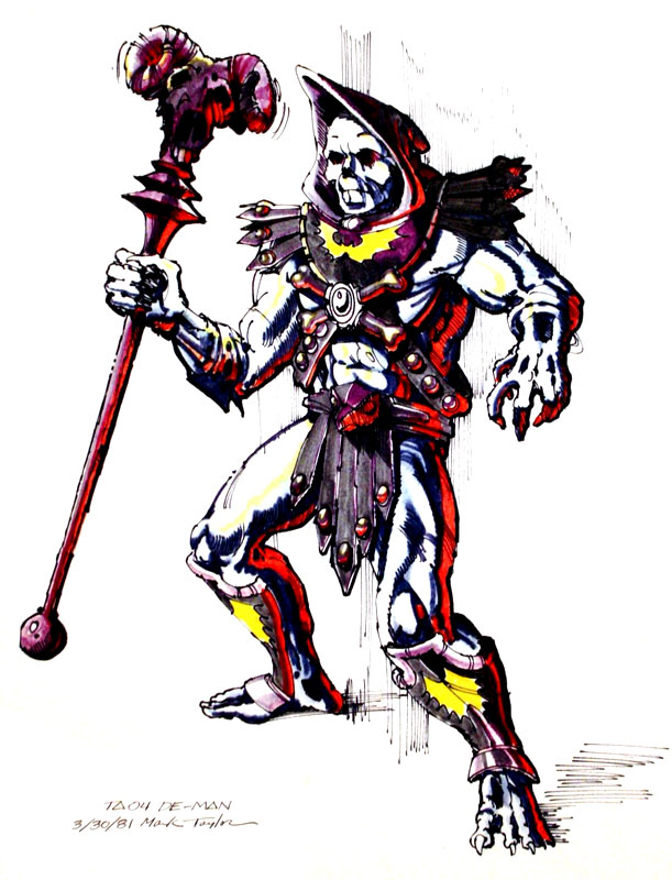 Mark Taylor Skeletor