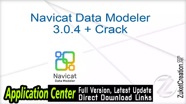 Navicat Data Modeler 3.0.4 + Crack