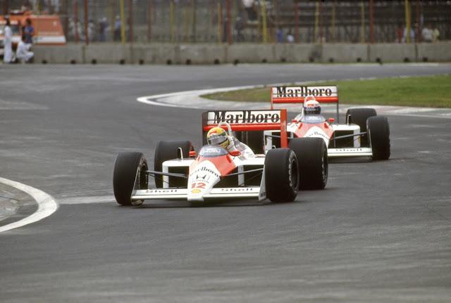 Primeira volta do GP de Mônaco de 1989, em Monte Carlo — Foto: Getty Images