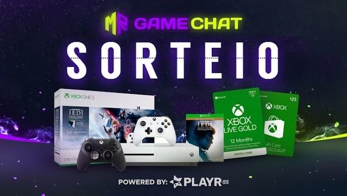 Sorteio de um Xbox One S, Jogos e muito mais