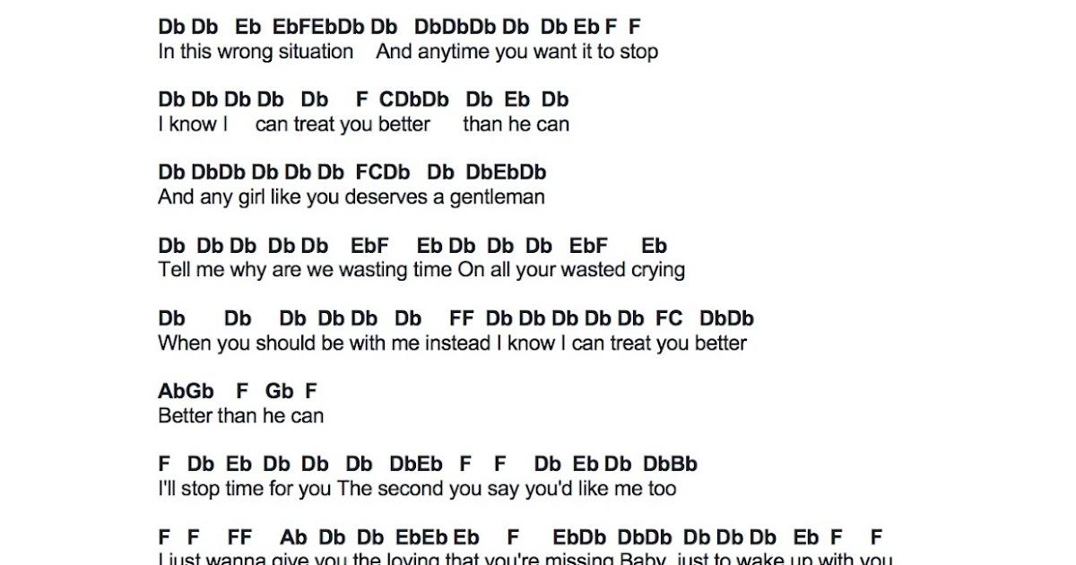 Flute Sheet Music: Treat You Better