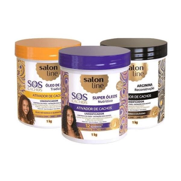 Ativados de Cachos - SOS Cachos Salon Line