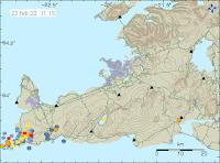 Teori: Expanderande gas skapar landhöjning vid Grindavík
