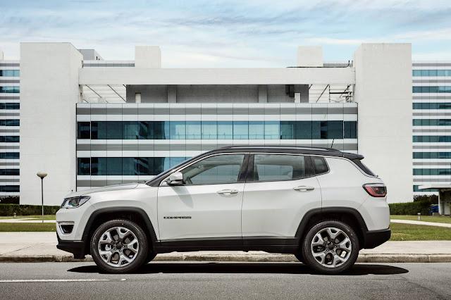 Novo Jeep Compass 2017 Limited Flex