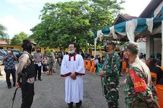 Kapolres Pantau Pengamanan Ibadah Jumat Agung di Wilayah Kota Padangsidimpuan