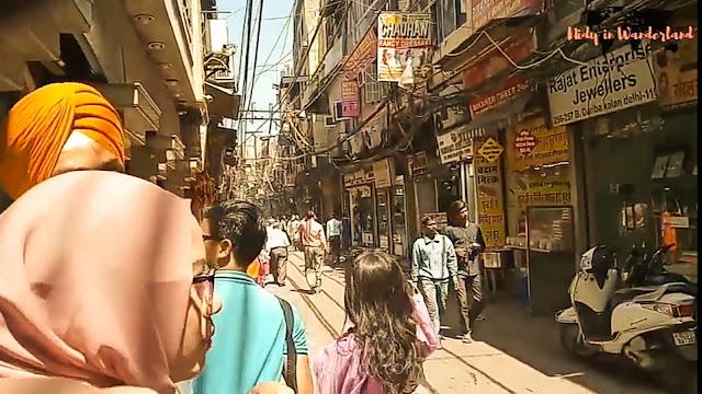 belanja di chandni chowk india