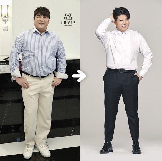 Shindong 'Juvis' ile 17 kilo verdi