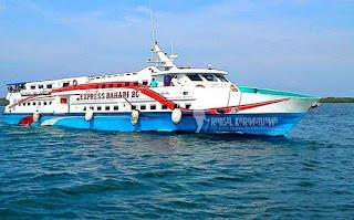 paket kapal cepat express bahari karimunjawa