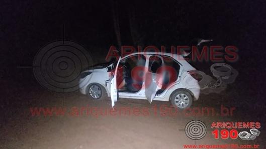 Três bandidos são mortos em confronto com a Polícia Militar em RO