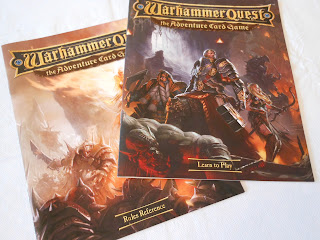 Warhammer Quest: The Adventure Card Game rules books