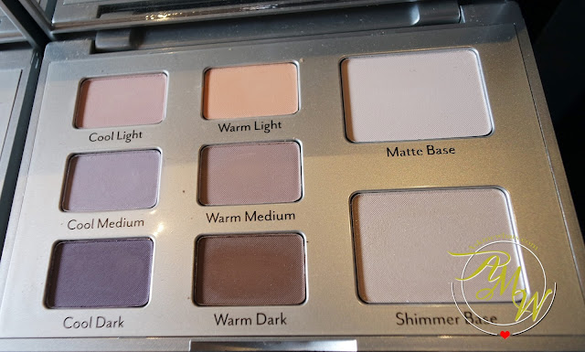 a photo of Cargo Contour Eye Palette
