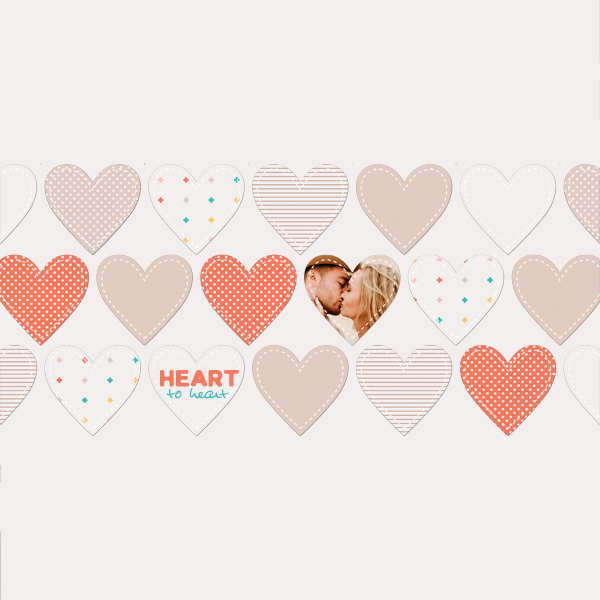 heart to heart © sylvia • 2018 • duo template vol 01 • coffee addicted by dunia designs