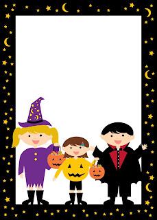 Bordes y Marcos para Halloween.