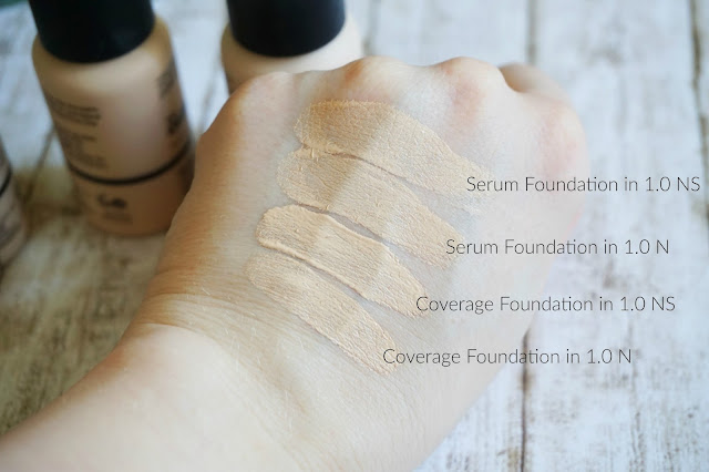 The Ordinary - Serum Foundation & Coverage Foundation 1.0 N und 1.0 NS