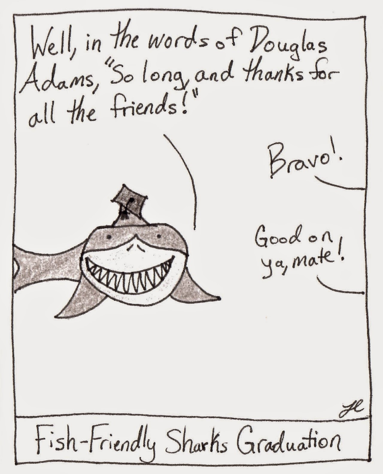 True Story: Shark Graduations