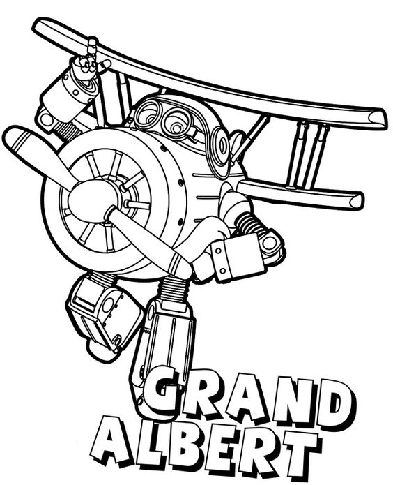 Super wings smart coloring pages 10