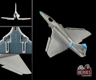 A-4 Skyhawk Wings for Platz/Eduard kit from Heroes Models