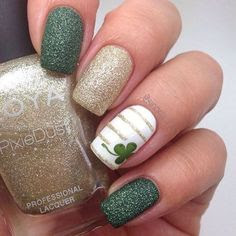 st patrick's day nail designs
