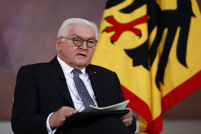 The German President reveals what sparked the violence in the US Capitol