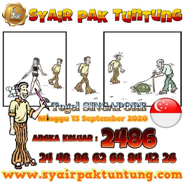 Syair SGP Senin 14 September 2020 -