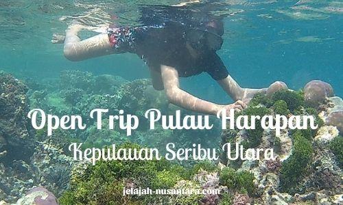 wisata gabungan trip pulau harapan
