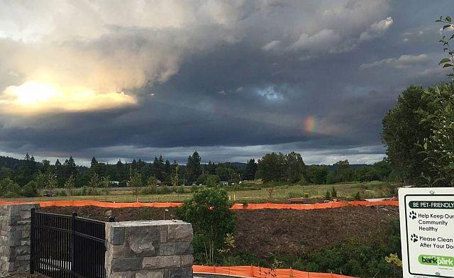 Huge Craft decloaks in weird shaped rainbow cloud over Washougal, WA Decloaking%2Bufo%2Bweird%2Brainbow%2Bcloud%2B%25283%2529
