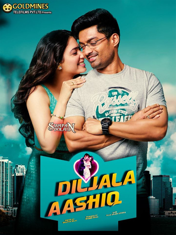 Diljala Aashiq (Naa Nuvve) 2020 full hd Hindi Dubbed 700MB HDRip 720p