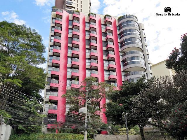 Vista ampla do Edifício Maison Felicitee - Higienópolis - São Paulo