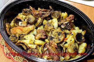 Αρνί με αγκινάρες και μάραθο στο φούρνο - από «Τα φαγητά της γιαγιάς»