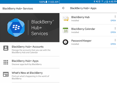 Blackberry Hub+ for Android