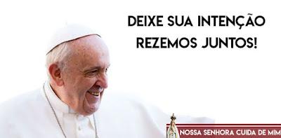 imagem do Papa Francisco oração da noite
