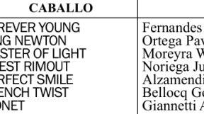 San Isidro. Programa y pronósticos para el Viernes 18 de Octubre. Potrillos y potrancas en los Clásicos Candy Ride (L) y Empiric (L)